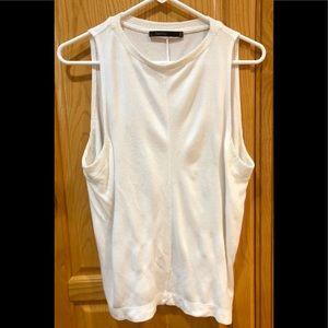 Twenty White Sleeveless Size Petite Small Top